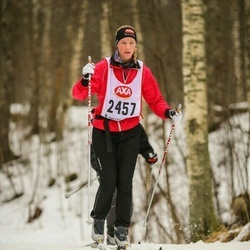 Skiing 45 km - Rebecka Karlsson (2457)