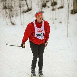 Skiing 45 km - Nina Hallgren (2003)