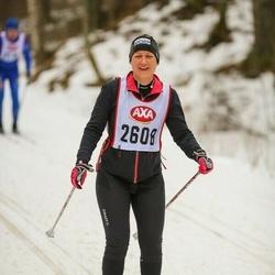 Skiing 45 km - Sandra Runum (2608)