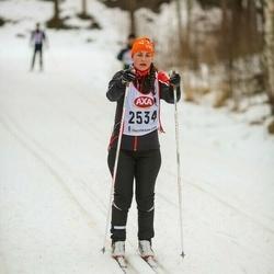 Skiing 45 km - Sara Lind (2534)