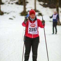 Skiing 45 km - Jessica Montgomery (2397)