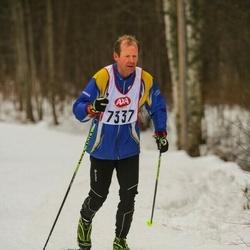 Skiing 45 km - Christian Johansson (7337)