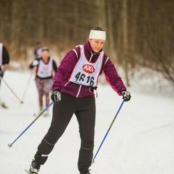 Skiing 45 km - Annika Sundqvist (4616)