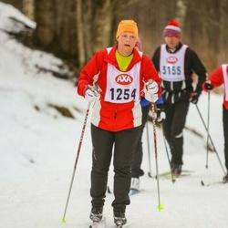 Skiing 45 km - Karola Bergkvist (1254)