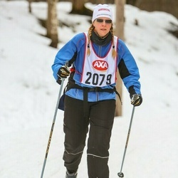 Skiing 45 km - Lena Nyholm (2079)