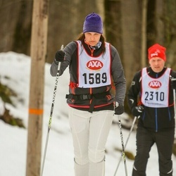 Skiing 45 km - Maria Pettersson (1589)