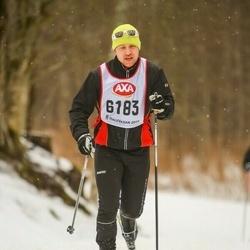 Skiing 45 km - Kristian Henriksson (6183)