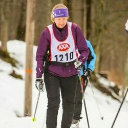 Skiing 45 km - Anette Järvegård (1210)