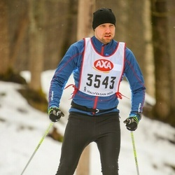 Skiing 45 km - Olle Carlsson (3543)