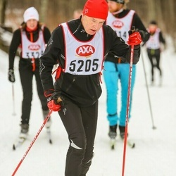 Skiing 45 km - Peter Hallgren (5205)