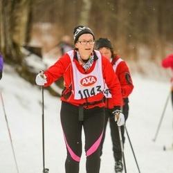 Skiing 45 km - Kristina Königsson (1043)