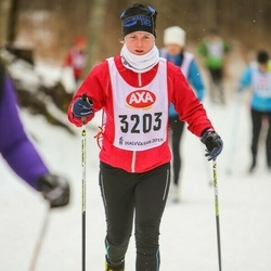 Skiing 45 km - Elin Lindfors (3203)