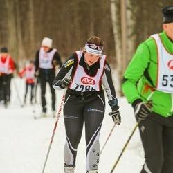 Skiing 45 km - Jennie Persson (7286)