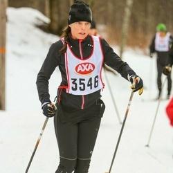 Skiing 45 km - Camilla Wilgodt (3546)