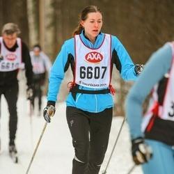 Skiing 45 km - Josefin Hidman (6607)