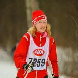 Skiing 45 km - Malin Hansson (7259)