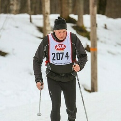 Skiing 45 km - Esse Pettersson (2074)