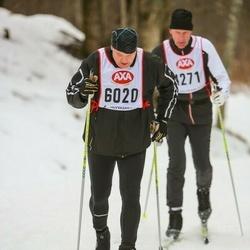 Skiing 45 km - Joakim Holback (6020)