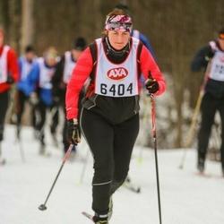 Skiing 45 km - Maria Wiik (6404)