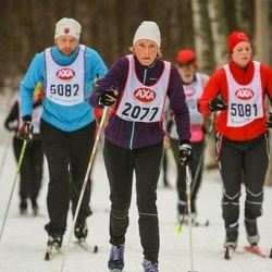 Skiing 45 km - Mia Troedsson Thulin (2077)
