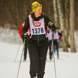 Skiing 45 km - Bodil Johansson (1378)