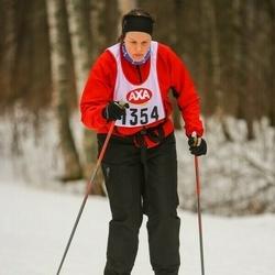 Skiing 45 km - Karin Aspemar (1354)