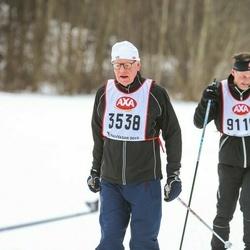Skiing 45 km - Gustaf Ekman (3538)