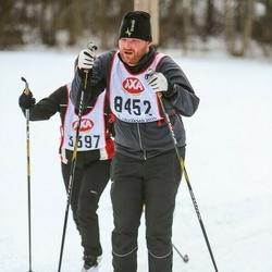 Skiing 45 km - Henrik Lindberg (8452)