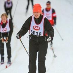 Skiing 45 km - Karin Eriksson (5028)