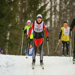 Skiing 45 km - Donatas Mankus (7054)