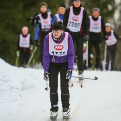 Skiing 45 km - Tove Riddarsparre (1331)