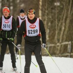 Skiing 45 km - Johan Cylvén (6299)