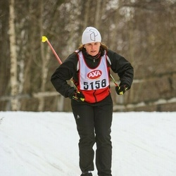 Skiing 45 km - Åsa Frölander (5158)