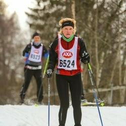 Skiing 45 km - Ingrid Riddebäck (6524)