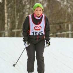 Skiing 45 km - Anne-Charlotte Widing (1546)