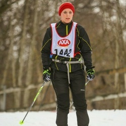 Skiing 45 km - Astrid Andersson (1442)