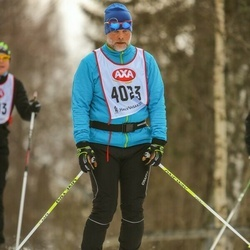 Skiing 45 km - Peter Isaksson (4023)