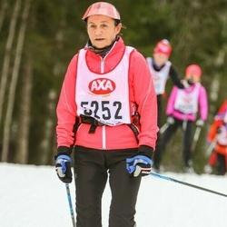 Skiing 45 km - Erika Svensson (5252)