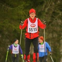 Skiing 45 km - Caroline Starlander (5515)