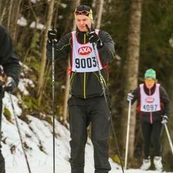 Skiing 45 km - Simon Lundmark (9003)