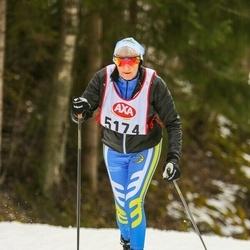 Skiing 45 km - Constance Meek (5174)
