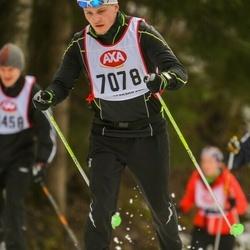 Skiing 45 km - Oskar Von Essen (7078)