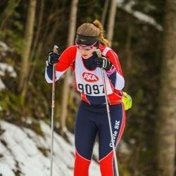 Skiing 45 km - Alexandra Högblad (9097)