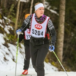 Skiing 45 km - Maria Nordström (5204)