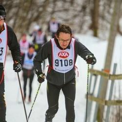Skiing 45 km - Peter Thörn (9108)