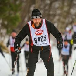 Skiing 45 km - Johan Sjölin (6403)