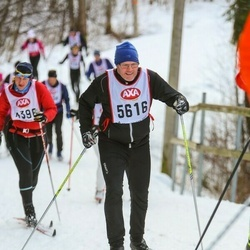 Skiing 45 km - Anders Andersson (5616)