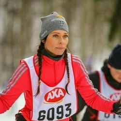 Skiing 45 km - Carina Andersson (6093)