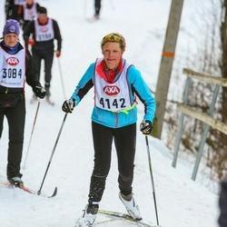 Skiing 45 km - Karin Alstersjö (4142)