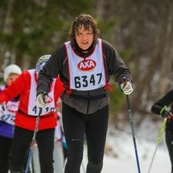 Skiing 45 km - Elisabeth Karlsson (6347)